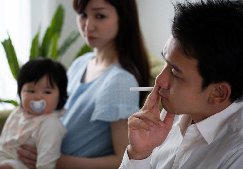 喫煙のマナーについて